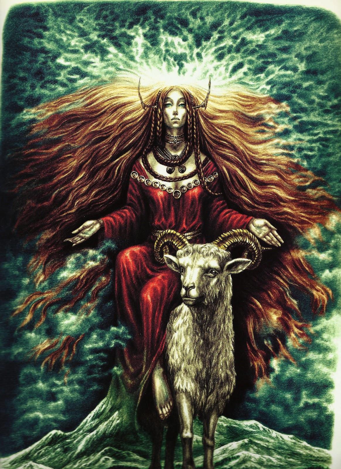 Tanrıça Afrodit, güzelliği, sevgiyi ve bereketi verir